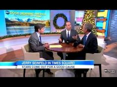 Jerry Seinfeld,  Bob Roth, & George Stephanopoulos on Good Morning America discussing Transcendental Meditation