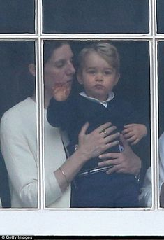 Despite all the military pomp and splendour of the Trooping the Colour parade, Prince George managed to steal the show with a simple wave from the balcony of Buckingham Palace.