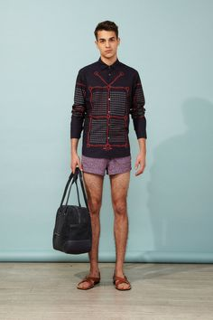 Paul & Joe Spring 2014 Menswear Collection Slideshow on Style.com