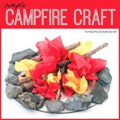 Mini Campfire Craft