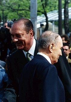 Passation de Pouvoir François Mitterrand / Jacques Chirac