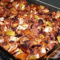 Chestnut and Cranberry Stuffing @ allrecipes.co.uk