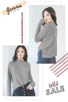 😍 CALL IT CASUAL HEATHER GREY MOCK NECK SWEATER Say what you want about the LUSH Call it Casual Heather Grey Mock Neck Sweater, you can't deny its cozy vibes! Soft knit creates a mock neckline and a relaxed bodice with twin notches at the hem. Ribbed accents start at the shoulders and continue across the tops of long dolman sleeves. #Fashion #StreetStyle #Casual #casualstyle #summertime #springfashion #outfit #womenswear #womensclothing #clothing #clothes #shoppingonline #chic Sweater Shop, Mock Neck, Spring Fashion, Heather Grey, Bodice, Neckline, Women Wear, Street Style, Clothes For Women