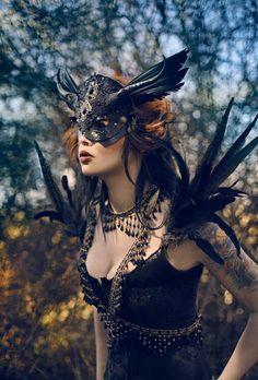 Winter wolf studios #gothic #mask