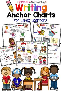 """Such helpful anchor charts for instruction and centers, thank you for creating these!"""