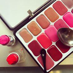 Beauty Creatures: DIY: lippenstift palette