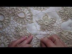 Irish Crochet Tutorial, Irish Crochet Patterns, Crochet Mandala Pattern, Crochet Symbols, Freeform Crochet, Lace Patterns, Crochet Lace, Russian Crochet, Point Lace
