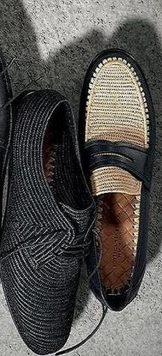 Mens style, mens shoes, summer shoes, woven loafers, woven oxfords