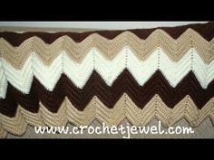 Ripple Stitch Afghan: http://crochetjewel.com/?p=63 Please Subscribe to my Crochet Jewel You tube channel: https://www.youtube.com/user/amray767 Follow Me: T...