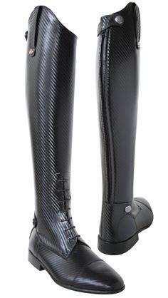 Konig Derby Boot with Carbon Fiber-esqe detail