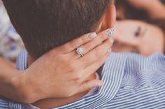 engagement ring shot