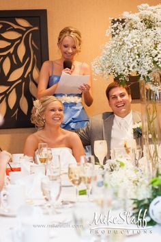 #Michigan wedding #Mike Staff Productions #wedding details #wedding photography #wedding dj #wedding videography #wedding reception #wedding toast #Fox Hills Golf and Banquet http://www.mikestaff.com/services/dj-services