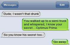 Optimus Prime Text - https://www.facebook.com/diplyofficial