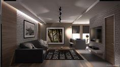Дизайн интерьера трехкомнатной квартиры в Киеве