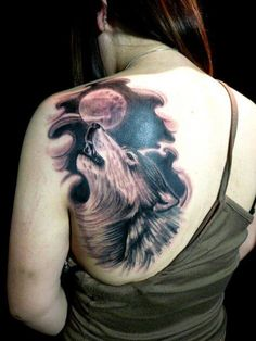 130+ Best Wolf Tattoos for Men (2021) - Howling, Lone, Tribal Designs Hand Tattoos For Women, Small Girl Tattoos, Back Tattoo Women, Sleeve Tattoos For Women, Trendy Tattoos, Tattoos For Guys, Couple Tattoos, Head Tattoos, Wolf Tattoos