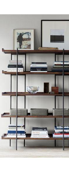 Beckett 5-High Shelf | Crate and Barrel