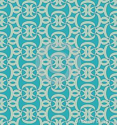 Seamlessly repeating pattern from abstract shapes in blue and green colors. Green Colors, Blue Green, Abstract Shapes, Repeating Patterns, Damask, Backdrops, Mosaic, Stock Photos, Illustration