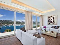 ¿Les gustaría disfrutar de estos espacios con vistas maravillosas? :) http://www.decoraciondeinteriores10.com/ambientes/diseno-de-interiores-de-lujo-con-una-maravillosa-vista/