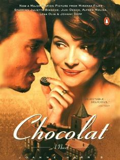 What's better than a book about a magical chocolate shop?! | Books Worth Reading: Chocolat by Joanne Harris