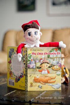 Love the elf on the shelf!!