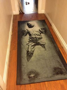 Carbonite Rug | This is so cool.