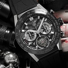 Carrera Tourbillon by for Tag Watches, Tag Heuer, Carrera, Photo Galleries, Archive, Tags, Gallery, Clocks, Bangle Bracelets