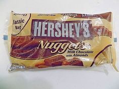 Hershey Milk Chocolate With Almond Nuggets 12 oz #Hersheys