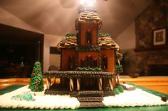 2009 - Gingerbread House - Disney's Haunted Mansion in Paris