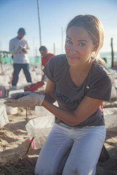 Lauren Conrad is asking you to help protect sea turtles from bycatch. Here's what you can do: Sign the petition to require life-saving Turtle Excluder Devices in trawl nets and save thousands of sea turtles every year. Lauren Conrad The Hills, Lauren Conrad Hair, Lauren Conrad Style, Chelsea Leyland, Save The Sea Turtles, Luanna Perez, Cali Girl, Nicole Richie, Celebs