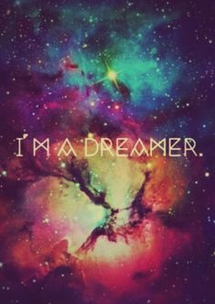 Dont be afraid to dream♡