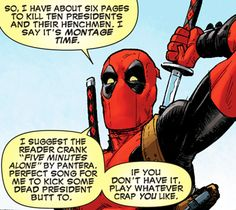 Deadpool (2012) #4 Oh Deadpool. You and your fourth wall breaking.