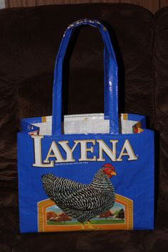 Recycled Upcycled Purina Layena Chicken Feed by BlessingsPoultry, $7.50