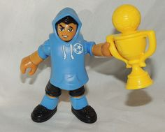 Fisher Price IMAGINEXT Collectible, Blind Bag Soccer Player, Futbol Series 1 #FisherPrice