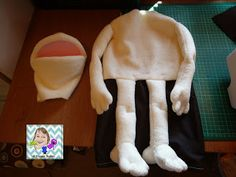 VR Puppet Builds: Sewing the baby puppet body
