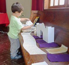 Godly play...  montessori inspired christian educ