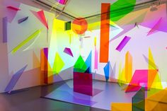 The Artist Using Neon Geometry as a Means of Escapism - Bahar Yürükoğlu