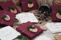 invitaciones boda navidad - macarena gea