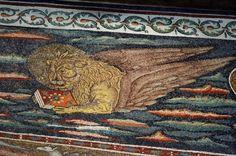 Sant'Apollinare in Classe: Triumphal Arch Mosaic: St. Mark the Evangelist
