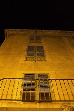 Home Fine Art Decor, Yellow House decor, Spain Photography, Photo Prints,