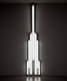 Histoire de l'art et du Design: Dan Flavin : artiste plasticien américain (1933-1996)