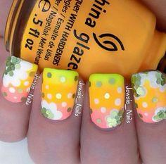 Summer nails maybe??~ ♡