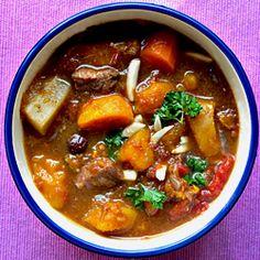 Moroccan stew. big chunky vegetables