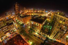 San Diego, Gaslamp District.