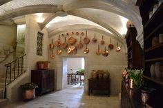 Château De Chenonceau - la cuisine