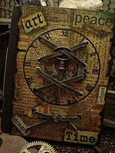 Altered Book Cover - Altered Alchemy