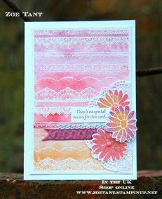 join stampin up uk demo blog hop delicate details host a party