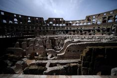 The Tunnels Beneath Rome's Colosseum Are Open to the Public for the First Time   Smart News   Smithsonian Magazine Gladiator Fights, Wooden Walkways, Archaeology News, Ancient Rome, How To Level Ground, Roman Empire, In The Heights, Restoration, Scenery