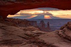 Mesa Arch   by Danny Seidman