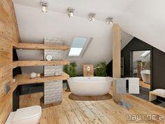 scandinavian style bathroom -  JN Studio Joanna Nawrocka