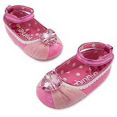 Disney Authentic - Minnie Mouse Costume Shoes for Baby - size 18 - 24 months - Brought to you by Avarsha.com